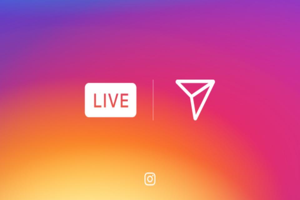 Nova versão do Instagram permite enviar transmissão ao vivo pelo Direct