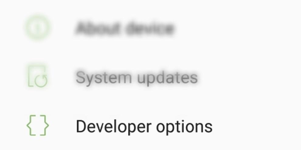 Torne seu Android mais rápido usando as opções de desenvolvedor